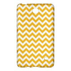 Sunny Yellow & White Zigzag Pattern Samsung Galaxy Tab 4 (8 ) Hardshell Case