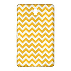 Sunny Yellow & White Zigzag Pattern Samsung Galaxy Tab S (8 4 ) Hardshell Case