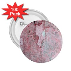 Coral Pink Abstract Background Texture 2 25  Button (100 Pack) by CrypticFragmentsDesign