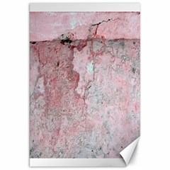 Coral Pink Abstract Background Texture Canvas 20  X 30  by CrypticFragmentsDesign