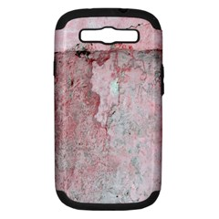 Coral Pink Abstract Background Texture Samsung Galaxy S Iii Hardshell Case (pc+silicone) by CrypticFragmentsDesign