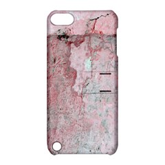 Coral Pink Abstract Background Texture Apple Ipod Touch 5 Hardshell Case With Stand by CrypticFragmentsDesign