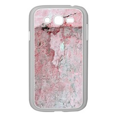 Coral Pink Abstract Background Texture Samsung Galaxy Grand Duos I9082 Case (white) by CrypticFragmentsDesign