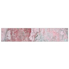 Coral Pink Abstract Background Texture Flano Scarf (small) by CrypticFragmentsDesign