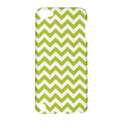Spring Green & White Zigzag Pattern One Piece Boyleg Swimsuit Apple Ipod Touch 5 Hardshell Case