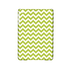 Spring Green & White Zigzag Pattern One Piece Boyleg Swimsuit Apple Ipad Mini 2 Hardshell Case by Zandiepants