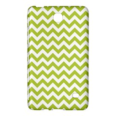 Spring Green & White Zigzag Pattern One Piece Boyleg Swimsuit Samsung Galaxy Tab 4 (8 ) Hardshell Case