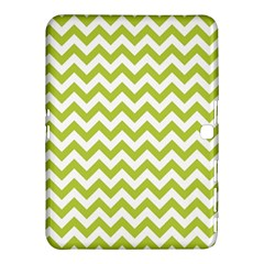 Spring Green & White Zigzag Pattern One Piece Boyleg Swimsuit Samsung Galaxy Tab 4 (10 1 ) Hardshell Case