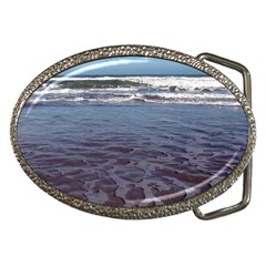 Ocean Surf Beach Waves Belt Buckles by CrypticFragmentsColors