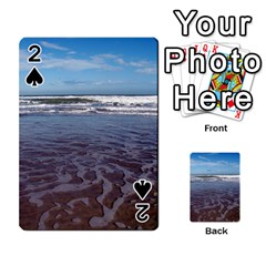 Ocean Surf Beach Waves Playing Cards 54 Designs