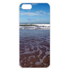 Ocean Surf Beach Waves Apple Iphone 5 Seamless Case (white) by CrypticFragmentsColors