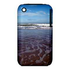 Ocean Surf Beach Waves Apple Iphone 3g/3gs Hardshell Case (pc+silicone) by CrypticFragmentsColors