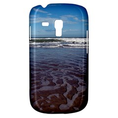 Ocean Surf Beach Waves Samsung Galaxy S3 Mini I8190 Hardshell Case by CrypticFragmentsColors
