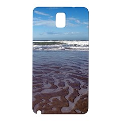 Ocean Surf Beach Waves Samsung Galaxy Note 3 N9005 Hardshell Back Case by CrypticFragmentsColors