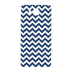 Navy Blue & White Zigzag Pattern Samsung Galaxy Alpha Hardshell Back Case