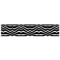 Modern Zebra Pattern Flano Scarf (small) by dflcprintsclothing
