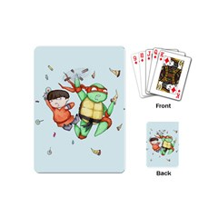 Mike & Tum Tum Playing Cards (mini)  by lvbart