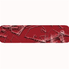 Thorny Abstract,red Large Bar Mats