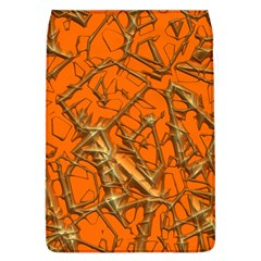 Thorny Abstract, Orange Flap Covers (l)  by MoreColorsinLife