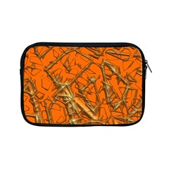 Thorny Abstract, Orange Apple Ipad Mini Zipper Cases by MoreColorsinLife