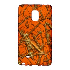 Thorny Abstract, Orange Galaxy Note Edge by MoreColorsinLife