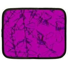 Thorny Abstract,hot Pink Netbook Case (xxl)