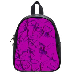 Thorny Abstract,hot Pink School Bags (small)  by MoreColorsinLife