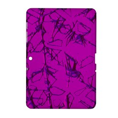 Thorny Abstract,hot Pink Samsung Galaxy Tab 2 (10 1 ) P5100 Hardshell Case  by MoreColorsinLife