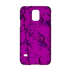 Thorny Abstract,hot Pink Samsung Galaxy S5 Hardshell Case  by MoreColorsinLife