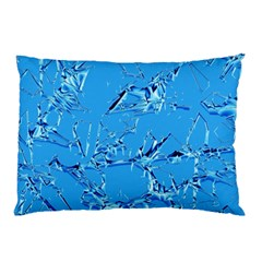 Thorny Abstract,ice Blue Pillow Case by MoreColorsinLife