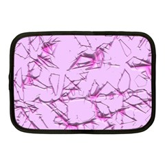 Thorny Abstract,soft Pink Netbook Case (medium)  by MoreColorsinLife