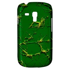 Thorny Abstract,green Samsung Galaxy S3 Mini I8190 Hardshell Case
