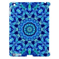 Blue Sea Jewel Mandala Apple Ipad 3/4 Hardshell Case (compatible With Smart Cover) by Zandiepants
