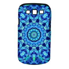 Blue Sea Jewel Mandala Samsung Galaxy S Iii Classic Hardshell Case (pc+silicone) by Zandiepants