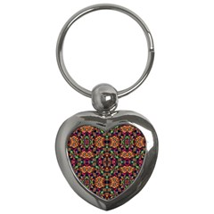 Luxury Boho Baroque Key Chains (heart)  by dflcprints