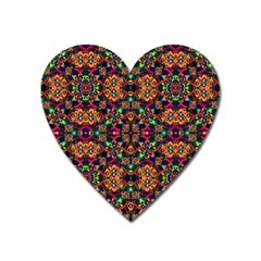 Luxury Boho Baroque Heart Magnet by dflcprints