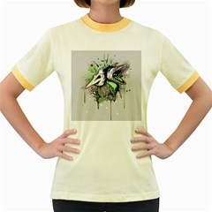 Recently Deceased Women s Fitted Ringer T Shirts by lvbart