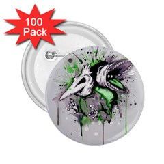 Recently Deceased 2 25  Buttons (100 Pack)  by lvbart
