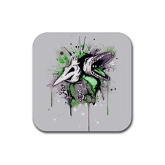 Recently Deceased Rubber Coaster (square)  by lvbart
