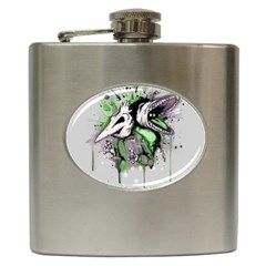 Recently Deceased Hip Flask (6 Oz) by lvbart