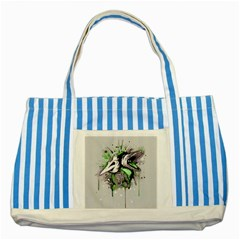 Recently Deceased Striped Blue Tote Bag by lvbart