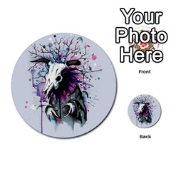 From Nature We Must Stray Multi Purpose Cards (round)  by lvbart