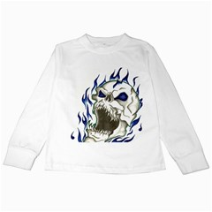 Ptdc0007 Kids Long Sleeve T Shirts by Limitless