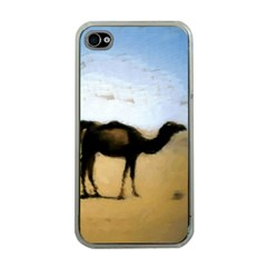 Moroccan Camels Painting Apple Iphone 4 Case (clear) by DeneWestUK
