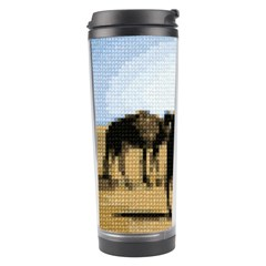 Moroccan Camels Tapestry Travel Tumbler by DeneWestUK