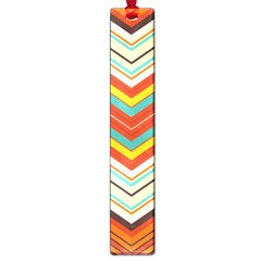 Bent Stripes                                    			large Book Mark by LalyLauraFLM