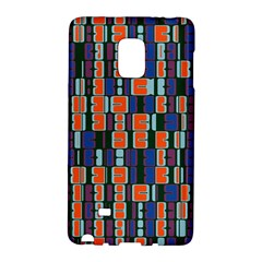 4 Colors Shapes                                    			samsung Galaxy Note Edge Hardshell Case by LalyLauraFLM