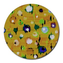 Ink                                    			round Mousepad by LalyLauraFLM