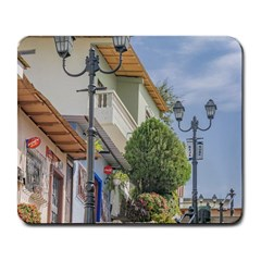 Cerro Santa Ana Guayaquil Ecuador Large Mousepads by dflcprints