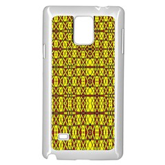 Small  Big Samsung Galaxy Note 4 Case (white) by MRTACPANS
